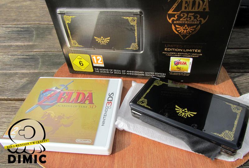 25th zelda anniversary 3ds