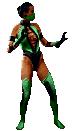 Ultimate Mortal Kombat 3: Jade (sprite)